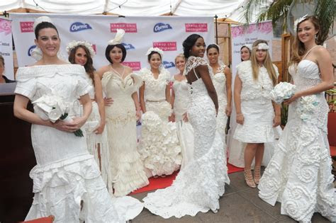 12th Annual Toilet Paper Wedding Dress Contest Winners