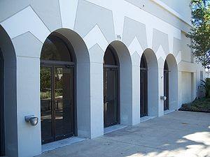 Ocala, Florida: The City Auditorium, in Tuscaw...