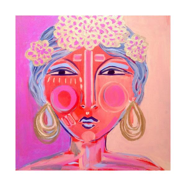 idalia: global boho art print