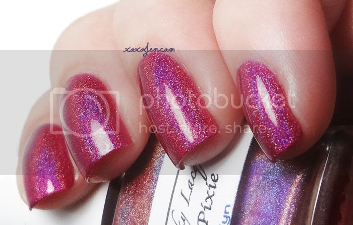 xoxoJen's swatch of Wyld Pixie by Liquid Sky Lacquer