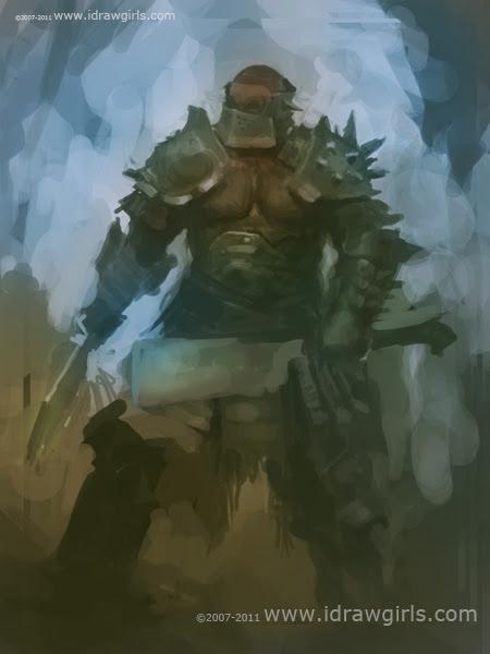 digital painting character design tutorial