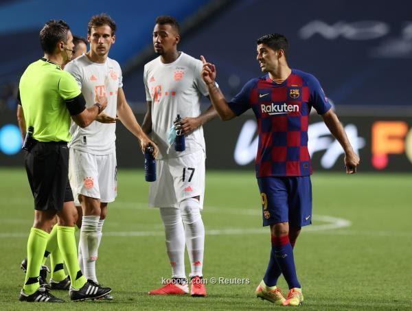 برشلونة يبدأ التفاوض على رحيل سواريز