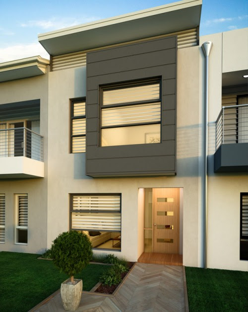 Tampak  Depan  Rumah  Minimalis  2  Lantai  4 Desain Rumah