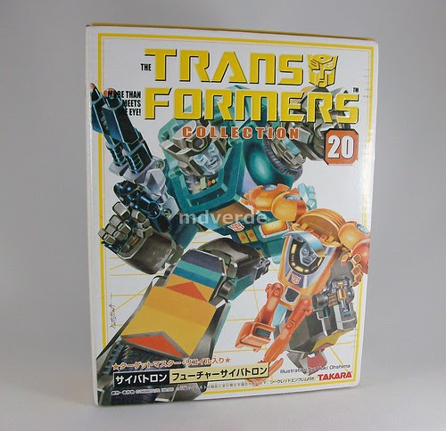 Transformers Targetmaster Kup G1 Reissue - caja (by mdverde)