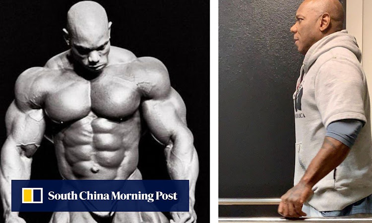 IFBB bodybuilding legend Flex Wheeler takes first step since surgery