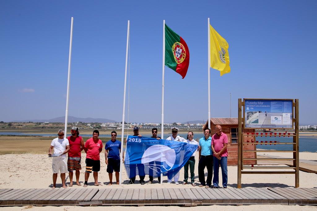 Hastear-bandeira-azul-Fuseta Mar-press
