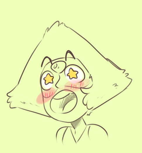 trashy-scribbles said: If you still like Steven Universe and if you're still doing the face meme requests, could you please draw Peridot in C7? Thank you so much if you do and I hope you have the...