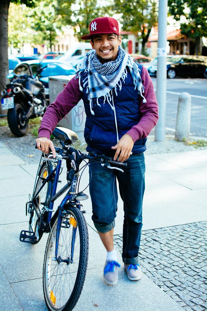 Anna in Berlin im September 2013