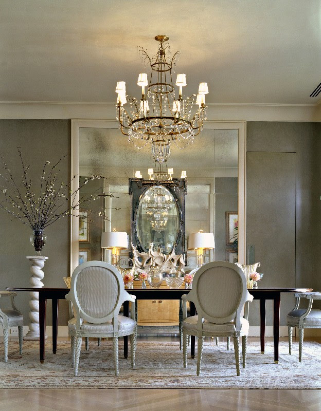 25 Elegant Black And White Dining Room Designs | Pouted ...