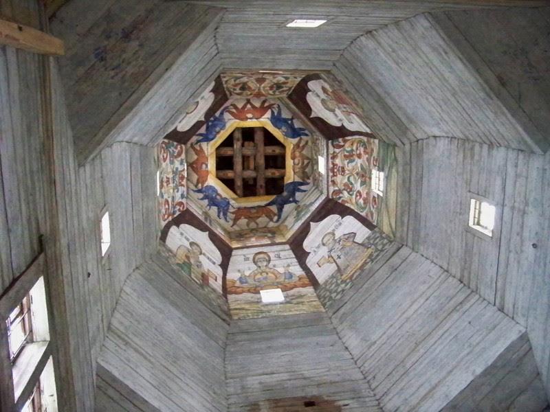 Внутри сохранилась древняя роспись Города России, Тверская область, красивые места, пейзажи, путешествия, россия, торжок