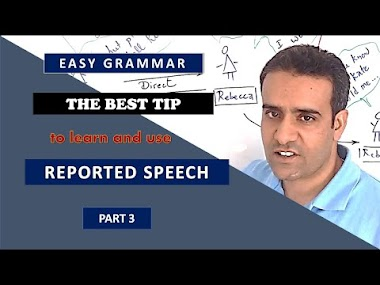 The best tip to learn and use reported speech