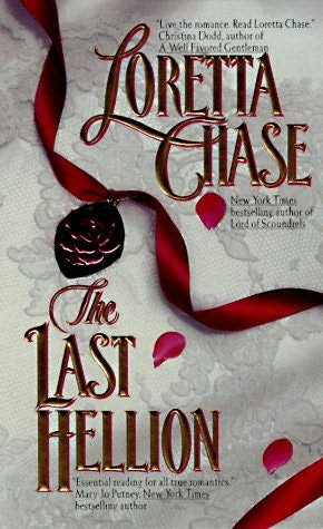book cover of   The Last Hellion