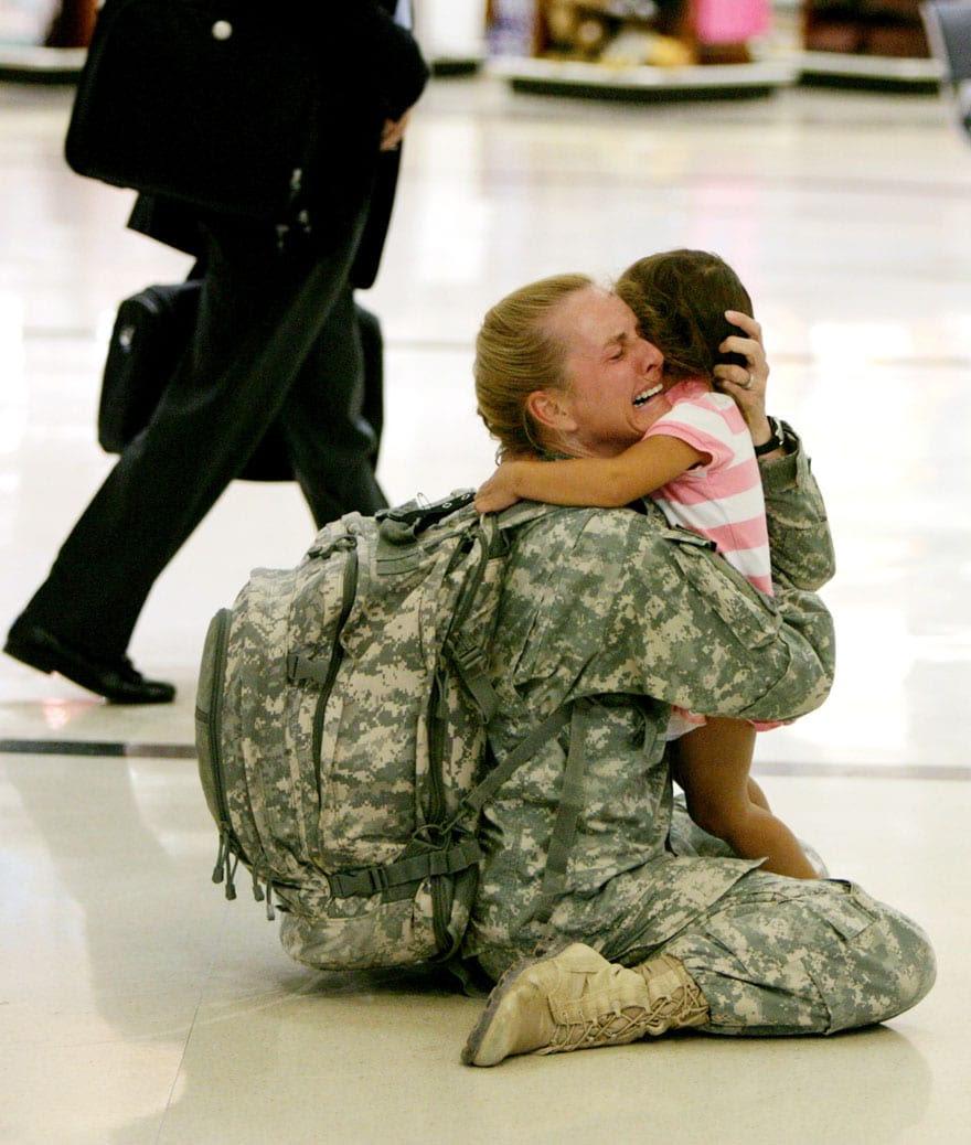 militar-filha