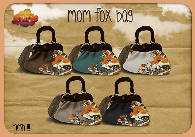 MOM FOX BAG *Tea Time* NEW!!! Mesh with pose<3
