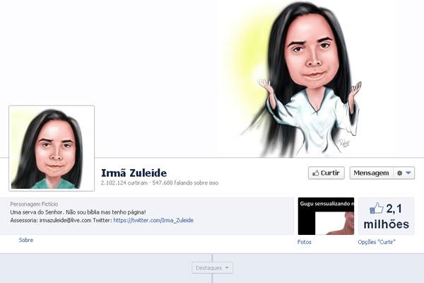 Página no Facebook tem mais de 2 milhões de fãs