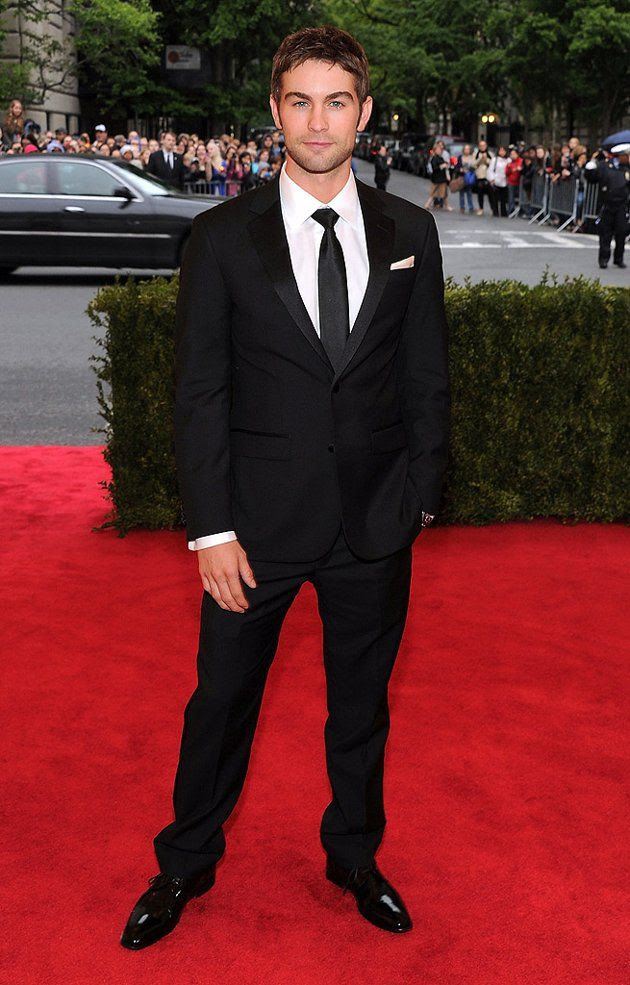 Costume Institute Gala Met Ball - May 7, 2012, Chace Crawford