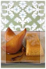 MapleCrèmeFlanW-Maple-GlazedPears-Milk&Cookies-JenJen