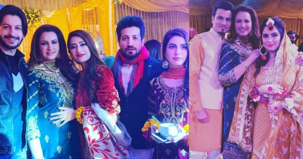 Saba faisal with family