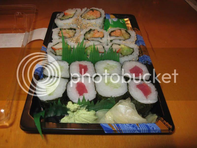 Publix Sushi Stardust Combo
