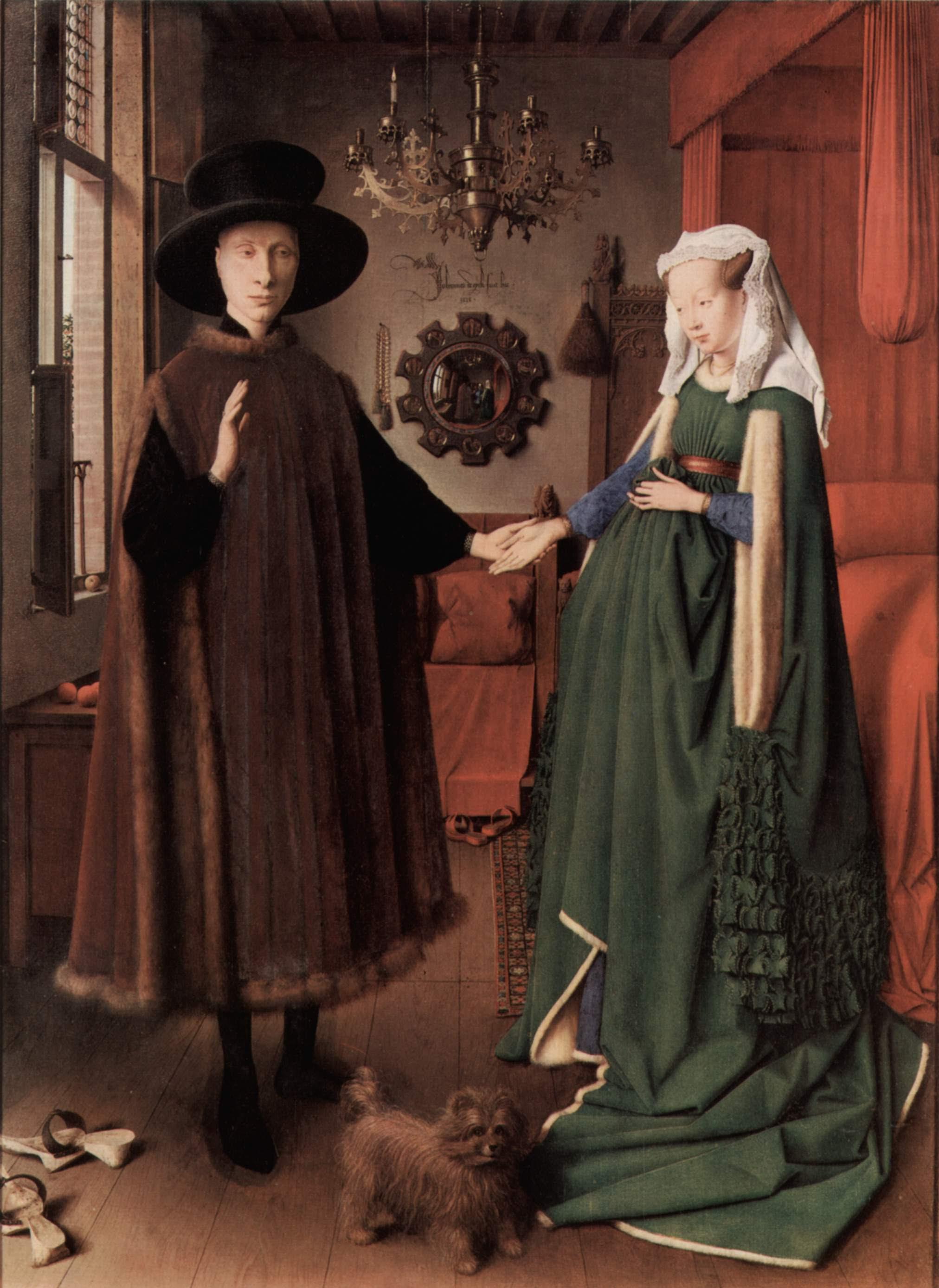 Jan Van Eyck Arnolfini Wedding Portrait