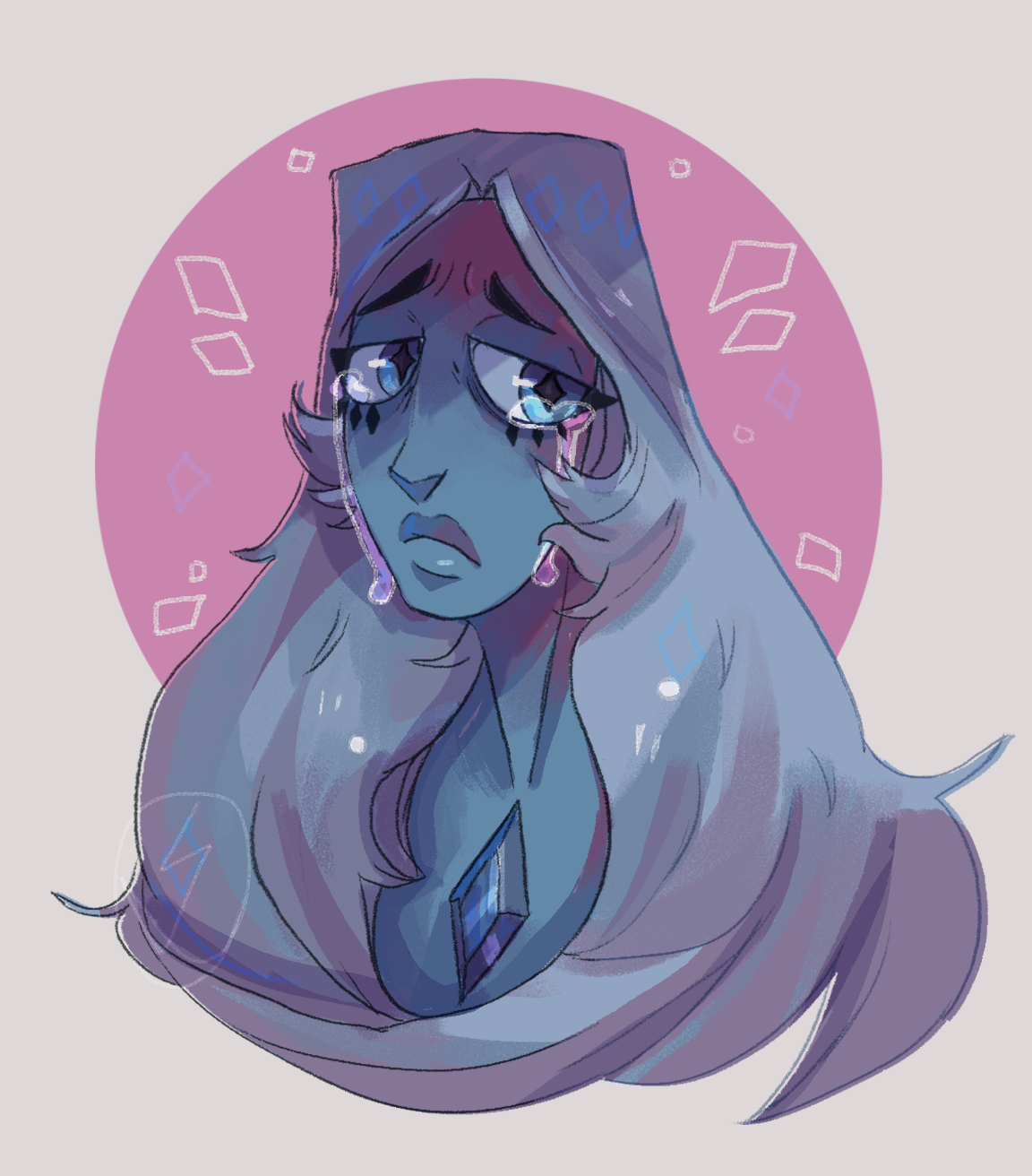 I wanted to doodle her in the honor of new episodes…