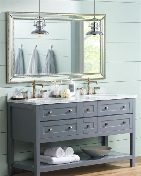 farmhouse style vanity lights  trend home design