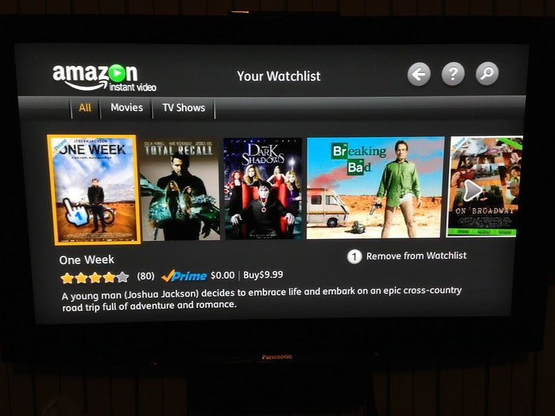 It's My Amazon Watchlist on my Wii. Very cool.