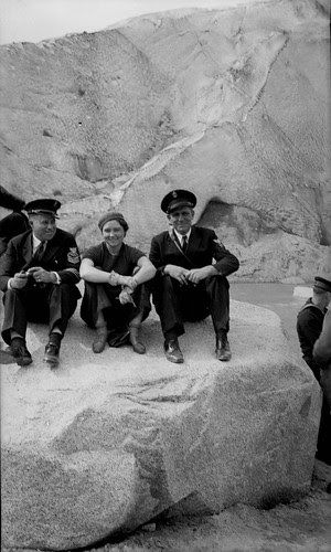 Sailors and a girl
