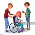 Chaise Roulante Dessin : Garçon en fauteuil roulant