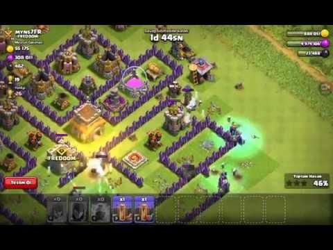 Clash of Clans Full Cadı Saldırısı
