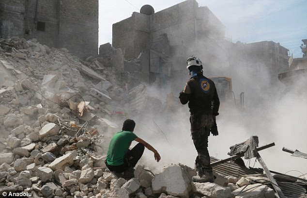 The US and Britain acknowledged, the Western world's weak support for any military action against Syria's government