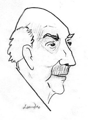 Old Lewis Mumford, american writer and histori...