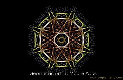 Geometric Art: Mobile Apps 5, Software, iPad, Point, Line, Plane.