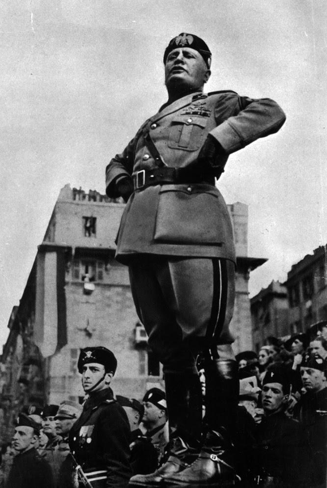Benito Mussolini, en una imagen de 1938.
