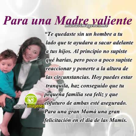 Frases Para Una Madre Soltera Con Imagenes Lindas Feliz Dia Mundo