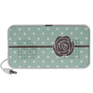 Vintage Rose Doodle Speaker