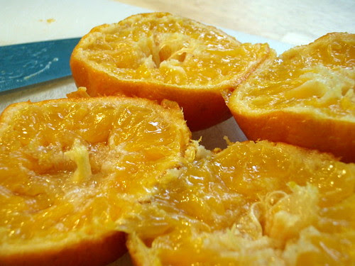 Boiled clementines