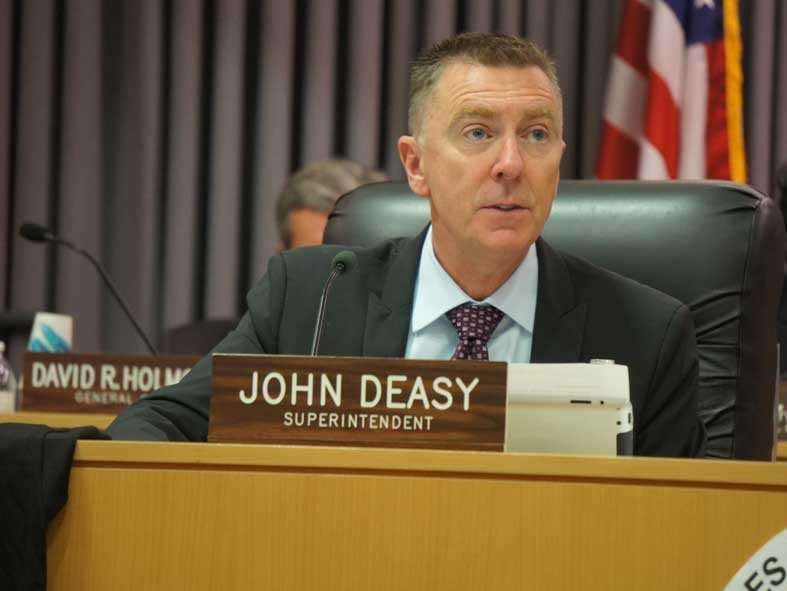 Deasy comments on education politics