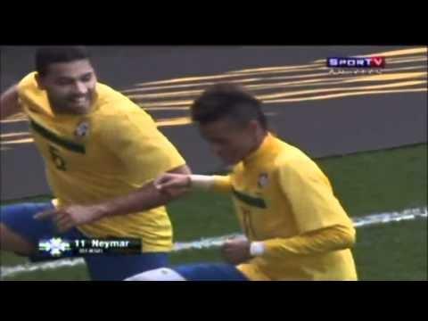 Amistosos da seleção - Brasil vence Escócia por 2 X 0