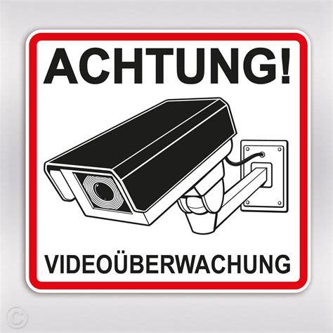 aufkleber videoueberwachung achtung kamera sticker kaufen