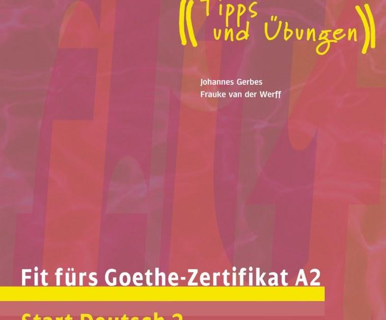Fit Fürs Goethe Zertifikat A2 All Body Training