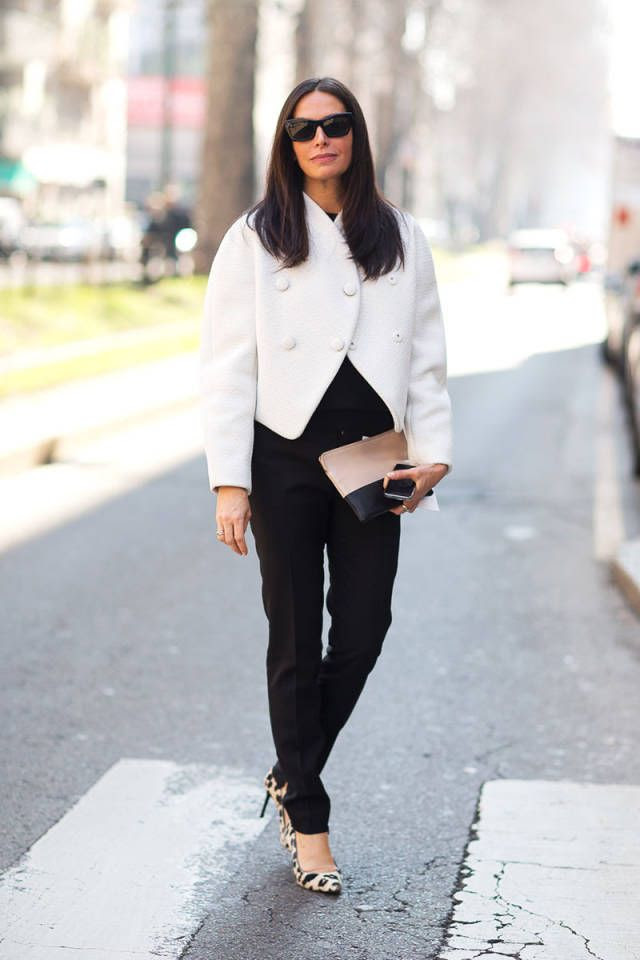 Take some sartorial inspiration from these ladies who get their street style looks right.