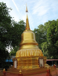 Chedi at Wat Thepnimit