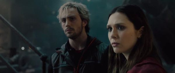 Are Scarlet Witch and Quicksilver friends or foes to the Avengers in 2015's AVENGERS: AGE OF ULTRON?