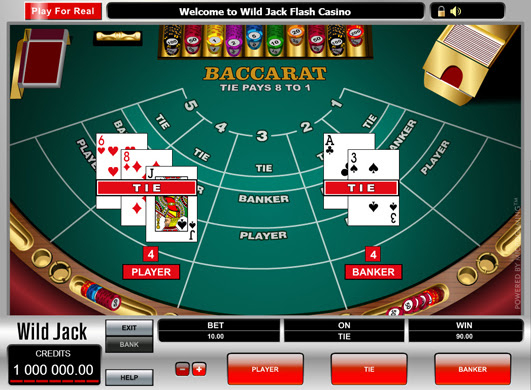 How do you play baccarat card game