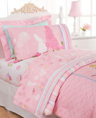 Disney Bedding, Kids Disney Princesses Comforter Sets - Bed in a ...