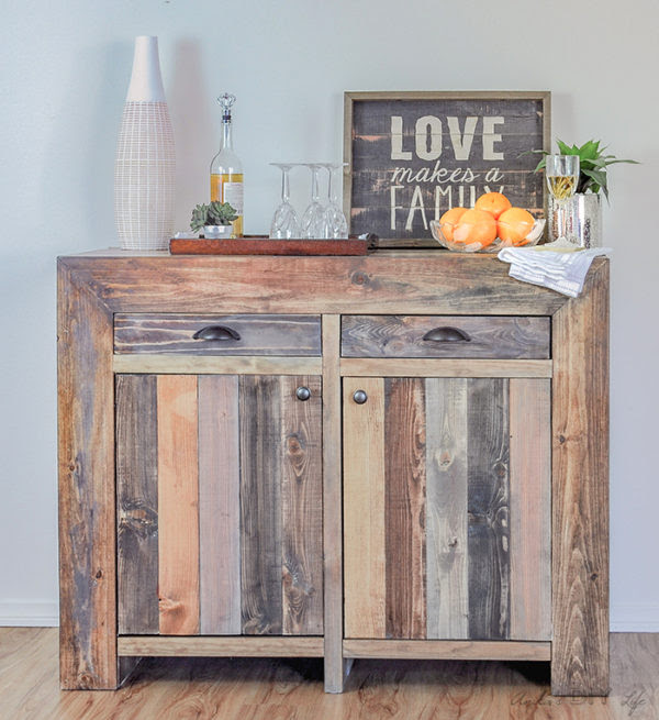 How To Build A West Elm Inspired Emerson Buffet - Anika's DIY Life - HMLP Feature 129