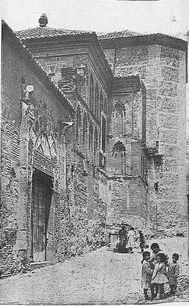 Convento de Santa Isabel. Fotografía de Narciso Clavería publicada en noviembre de 1930 en la Revista Toledo