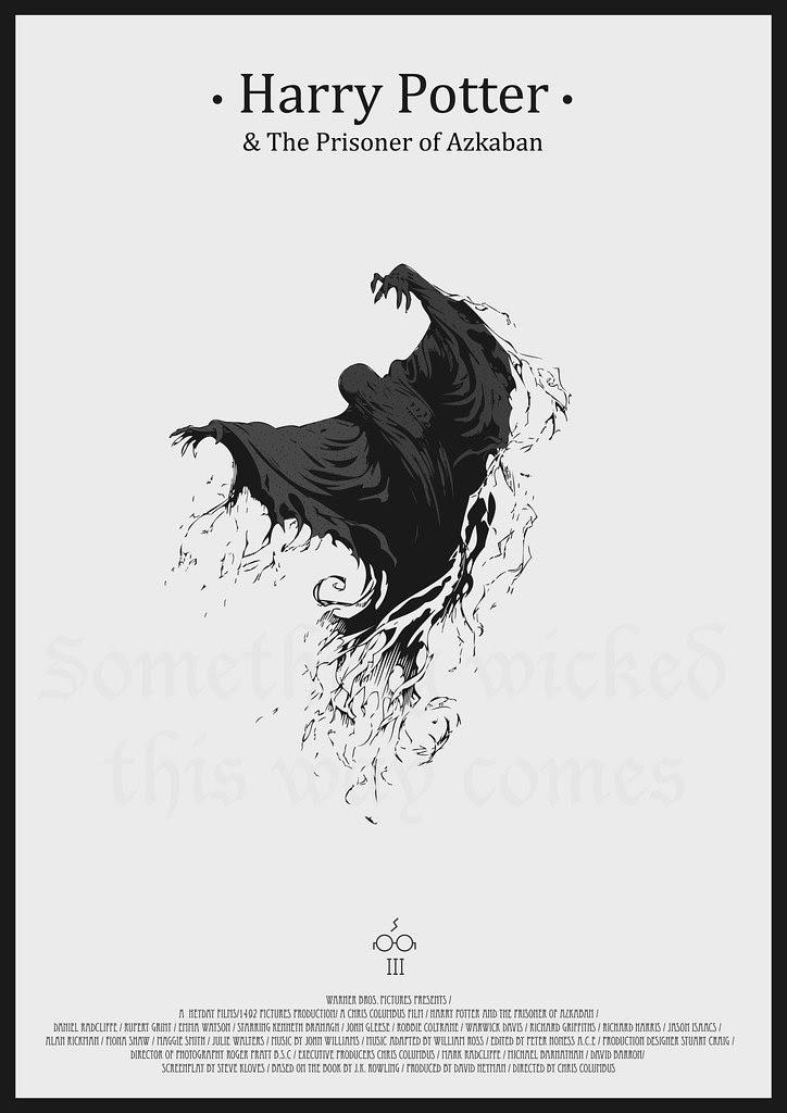 Harry Potter And the Prisoner of Azkaban - Minimalist Poster