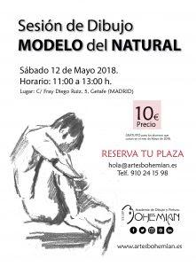 Sesión De Dibujo Con Modelo Del Natural 2018